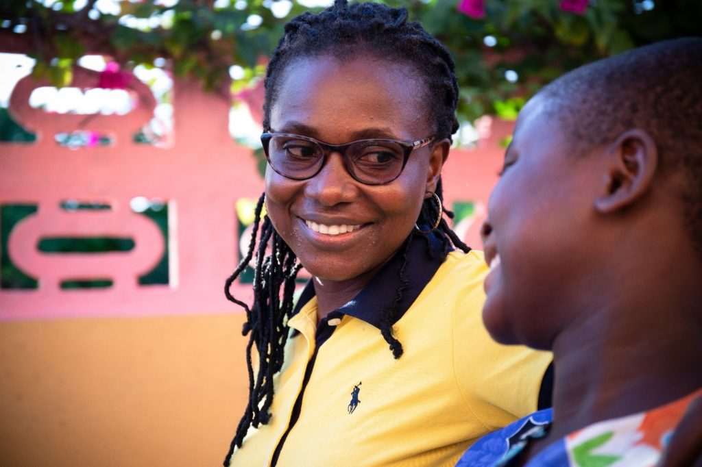 Q&A with Esther's social worker
