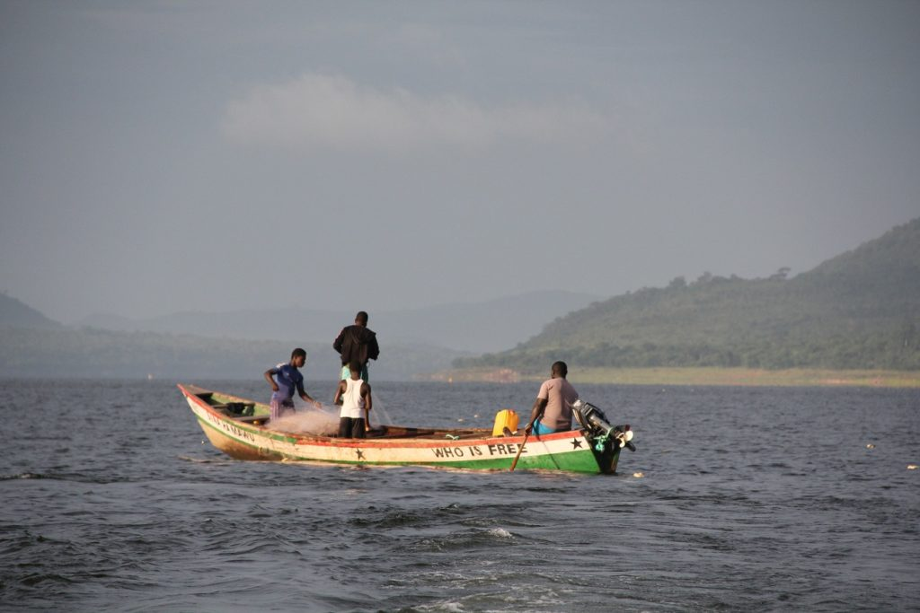 Scenes from Lake Volta, Ghana
