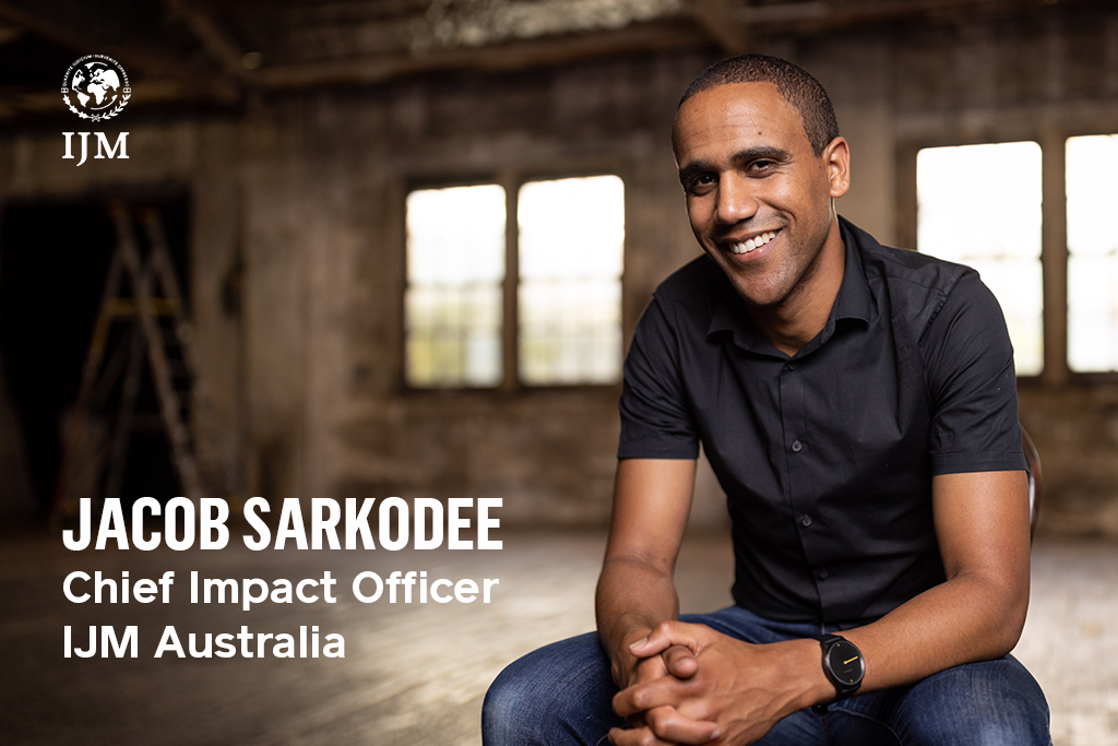 Jacob Sarkodee takes on new role as Chief Impact Officer