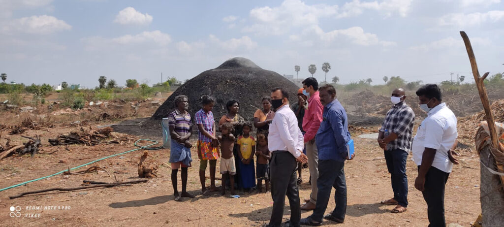 Survivor Leaders Help Rescue 13 People from Charcoal Business